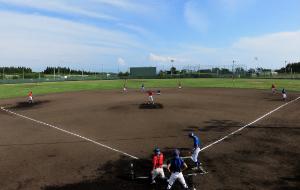 硬式野球部練習場